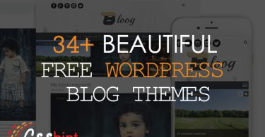 34+ Beautiful Free WordPress Blog Themes