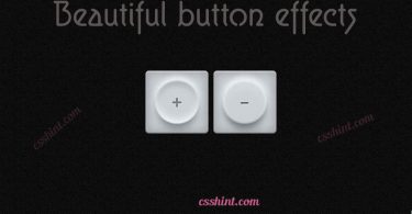 12+ Beautiful css3 buttons with hover effects
