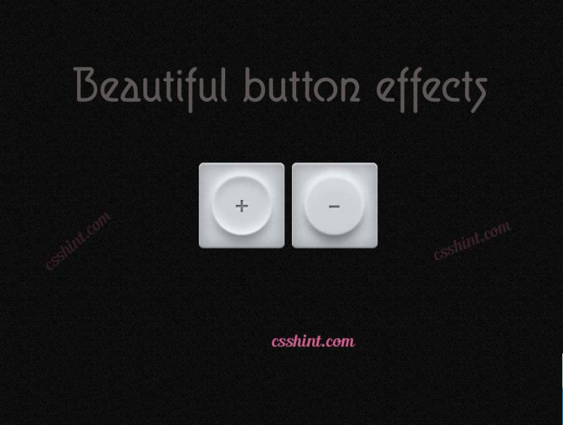 12+ Beautiful css3 buttons with hover effects - csshint - A designer hub