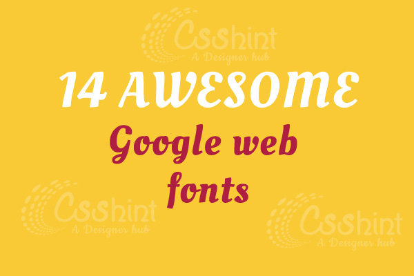 The Top 14 Google fonts For Strong Headlines and Headings