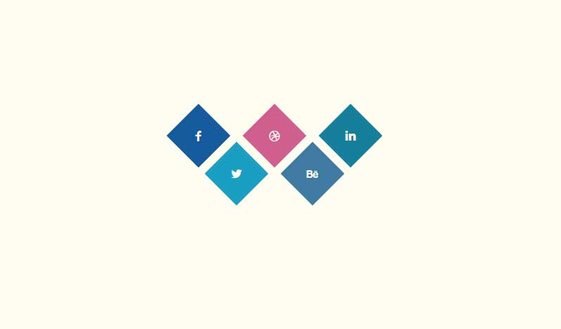 10+ Cool CSS3 Hover Effects Social Icons - csshint - A