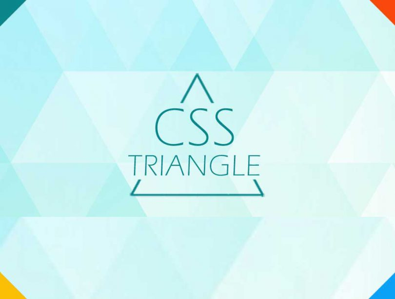 how to create triangles with CSS