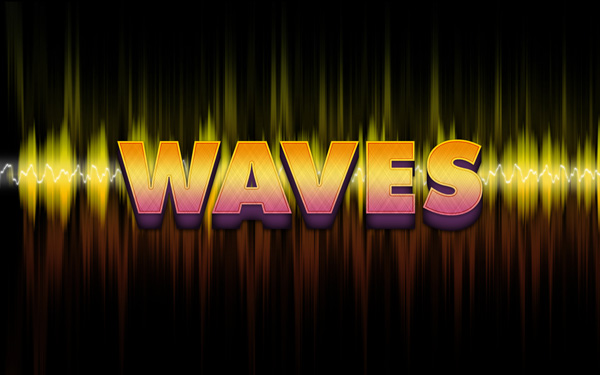 waves-text-effect