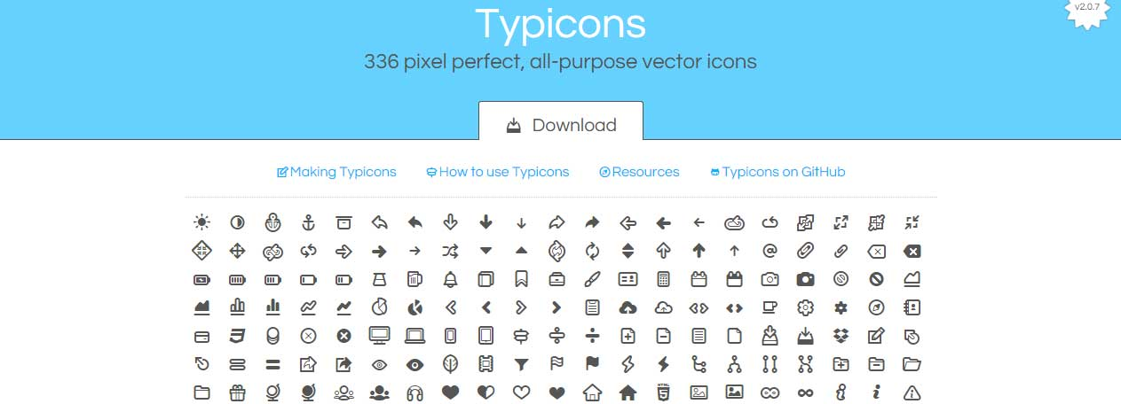 The 12 best Free Icon Fonts for Web Designers - csshint - A