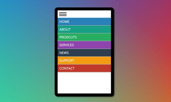 Top 22 : jQuery CSS Mobile Menu - csshint - A designer hub