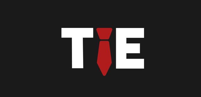 Tie Logo Typography