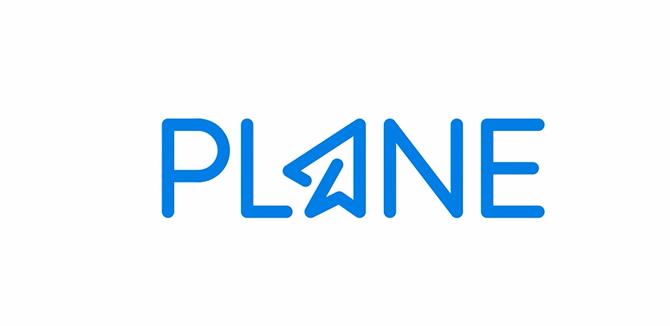 Plane Logo Design by Paulius Kairevicius
