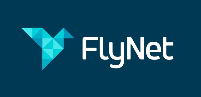 FlyNet Logo Design