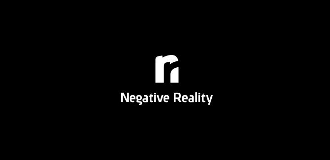 Negative Reality Logo Design