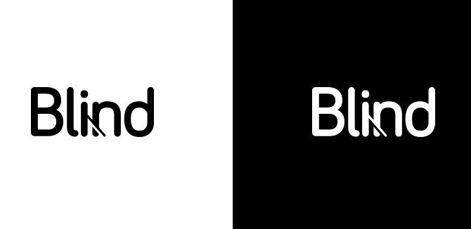 Blind Wordmark logo